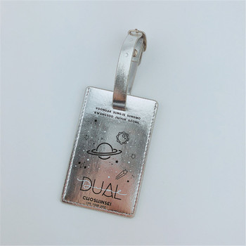 China supplier superior quality new fashion custom made sliver luggage tag