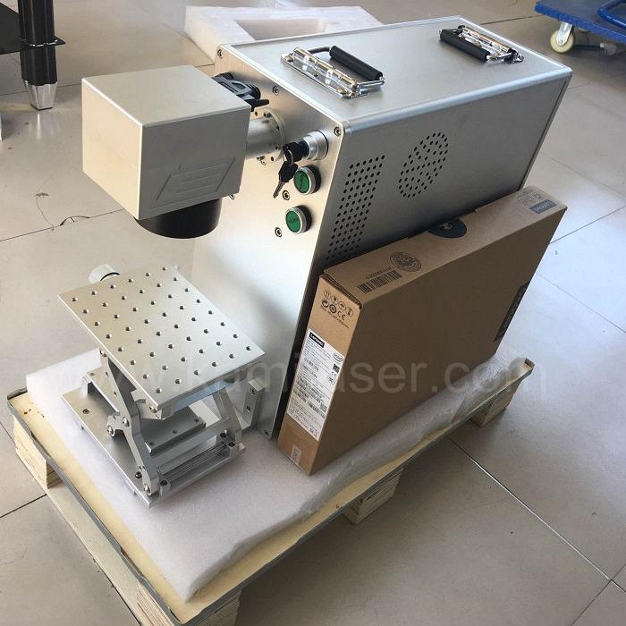 Mini portable laser marker machine / fiber laser marking machine / laser marking machines used