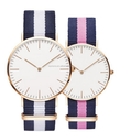 china supplier wholesale DW wristwatch with nylon strap