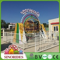 China thrilling amusement manufacturer human gyroscope gyro ride for sale