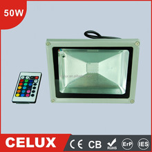 Best price 50w rgb led floodlight with led rgb controller
