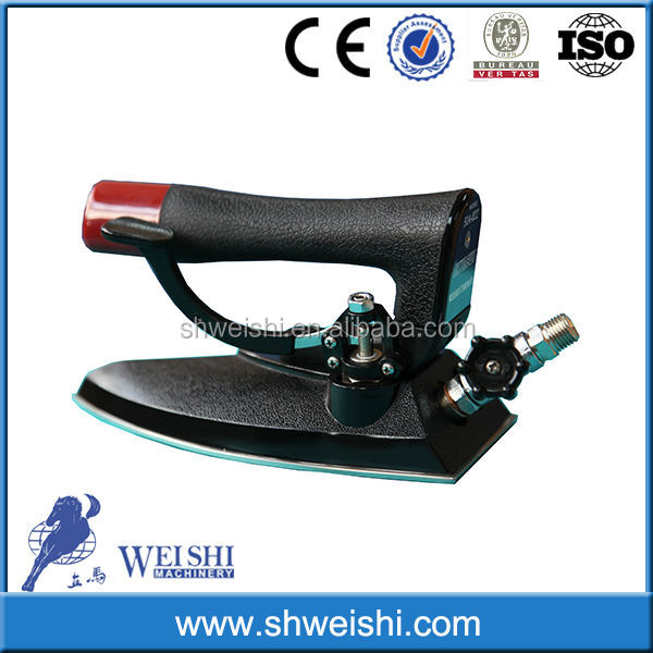 Best price!Hot sale high quality laundry machine steam iron with boiler