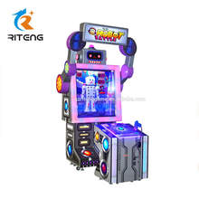 Intelligent robot battle ticket redemption coin pusher game machine