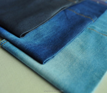 Stock 4.5oz cotton poly denim fabric for shirt