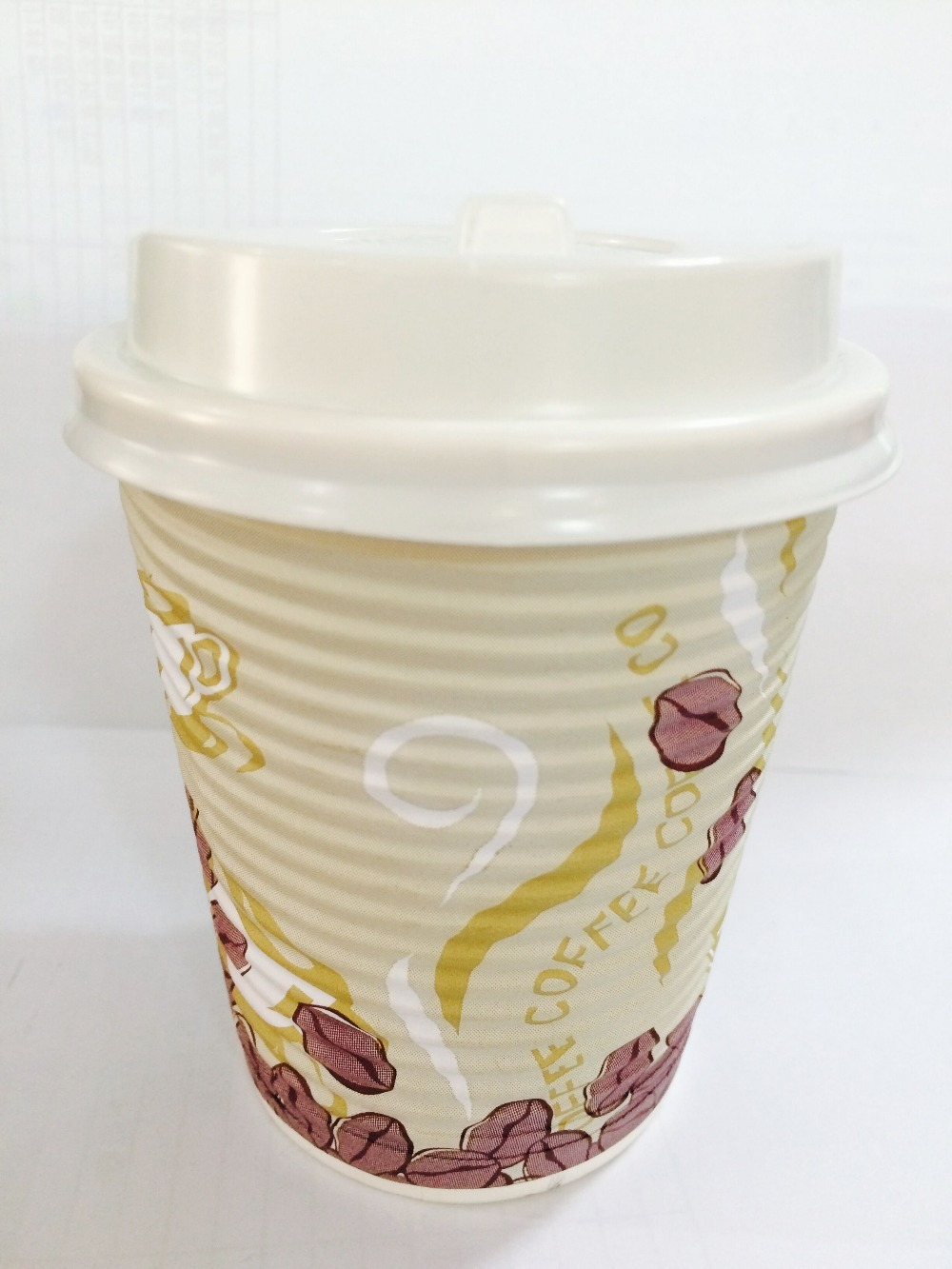 paper coffeeripple paper cup/disposable ripple paper cup