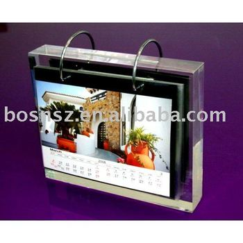 Acrylic Calendar Holder,Plexiglass Photo Frame,Perspex Leaflet Display