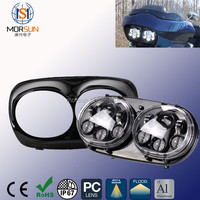 7 inch Harley Headlights With Running Light Truck Trailer LED Headlamp