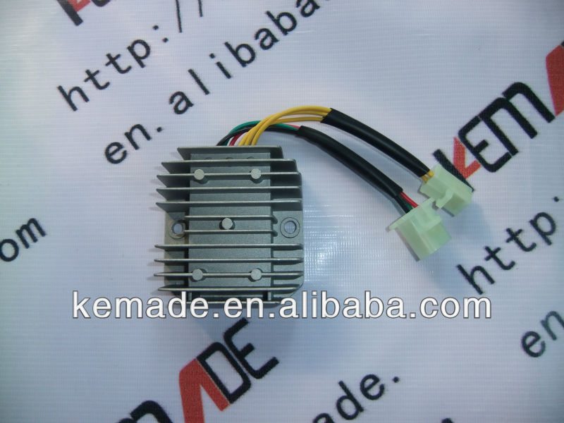 7 Pin 6 Wire GY6 Voltage Regulator GY6 Rectifiers Double Plug Rectifier for GY6 150