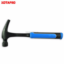 Anti vibration one piece straight claw hammer