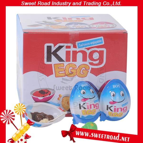 New Kinder Surprise Joy Chocolates Eggs Shaped with Toy for sale