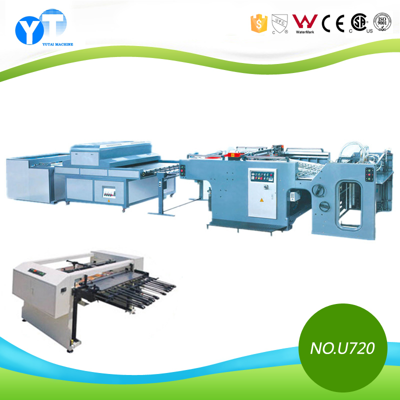 YT U720 Cylinder Silk Screen Printing Machine with UV Dryer