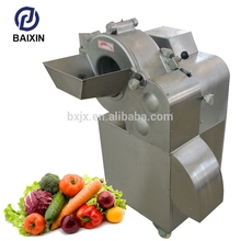 Digital types of vegetables cutting machine type shredding machinery two dimensional dicing for xc-mg