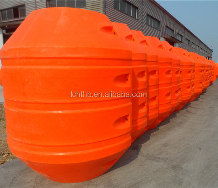<strong>PE</strong> floats for HDPE /uhmwpe sand dredging pipes