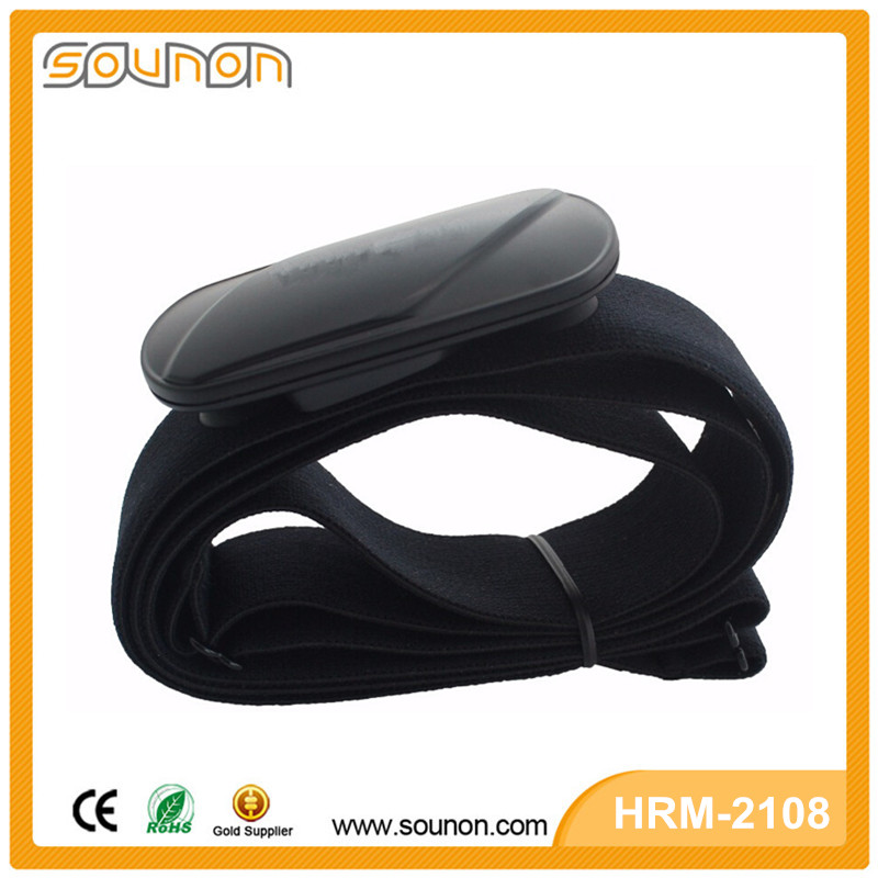 2016 New Design CE RoHS Bluetooth ANT+ Heart Rate Sensor, Wifi Heart Rate Monitor, Portable Heart Rate Monitor Chest Strap