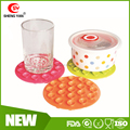Durable Heat Resistant Strong Round silicone suction cup,silicone sucker,silicone rubber sucker