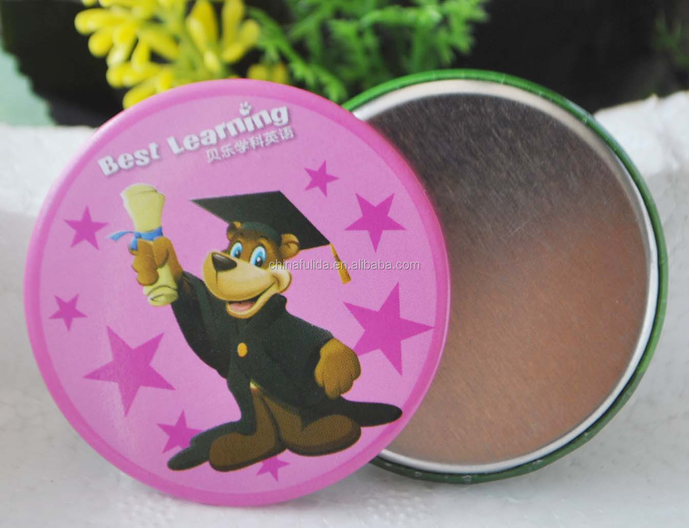 Button Badge Magnet with Custom Logo