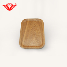 China first manufacturer of WOODEN paper food tray