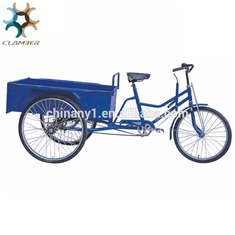 High quality green power three wheel freestyle cargo tricycle for adults sale