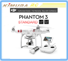 DJI Phantom 3 Standard vision Drone with 2.7K 12 Megapixel HD Camera RC GPS FPV porfessional photography Quadcopter helicopter