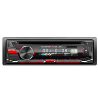 24V Detachable panel single din car audio one din car multimedia cd/usb/sd,/fm/aux in player