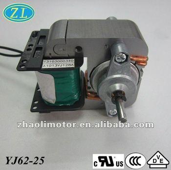 220v 50hz insulation class b electromotor yj62 25 motor for Class b electric motor