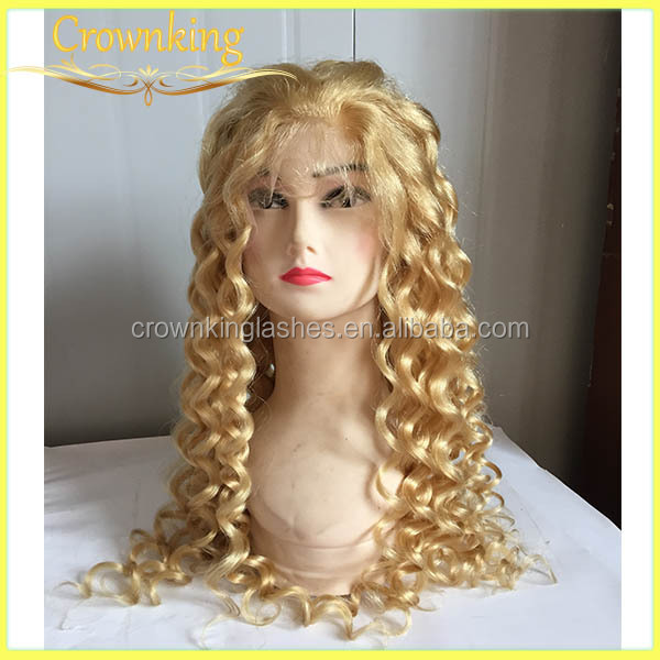 HOT SELLING remy hair wigs, front lace wig for white women