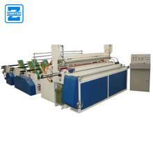 Automatic rewinding toilet tissue paper embossed kitchen towel making machine