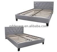 Professional manufacturer faux leather bed for bedroom at the Wholesale Price