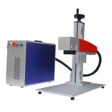 OEM/ODM 10w 20w 30w cheap portable fiber metal laser marking machine for engraving on pet id/dog tag/bird ring use