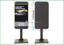Signic factory street lamp pole 3g advertising led display p6 outdoor banner pole sign