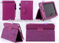 Stand Leather Case For Asus Memo Pad HD 7 ME173