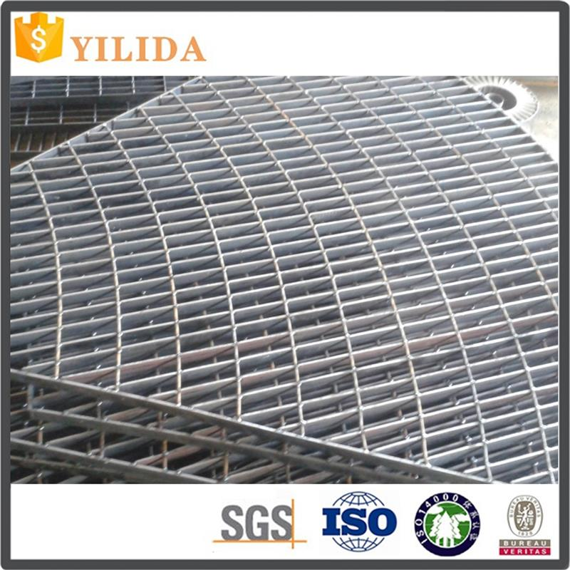 Heavy duty platform floor galvanized steel grating