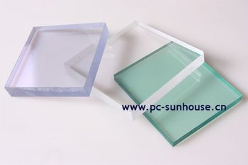 1mm Polycarbonate compact sheet PC sheet