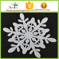 large outdoor hanging ornament christmas polystyrene snowflake