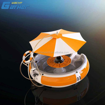 BBQ donut boat for entertainment, BBQ leisure boat, Entertainment BBQ donut boat