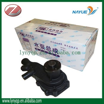 YUEJIN truck engine parts water pump for YN490QB NJ1028