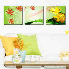 Wall decorative natural scenery canvas flower modern oil painting