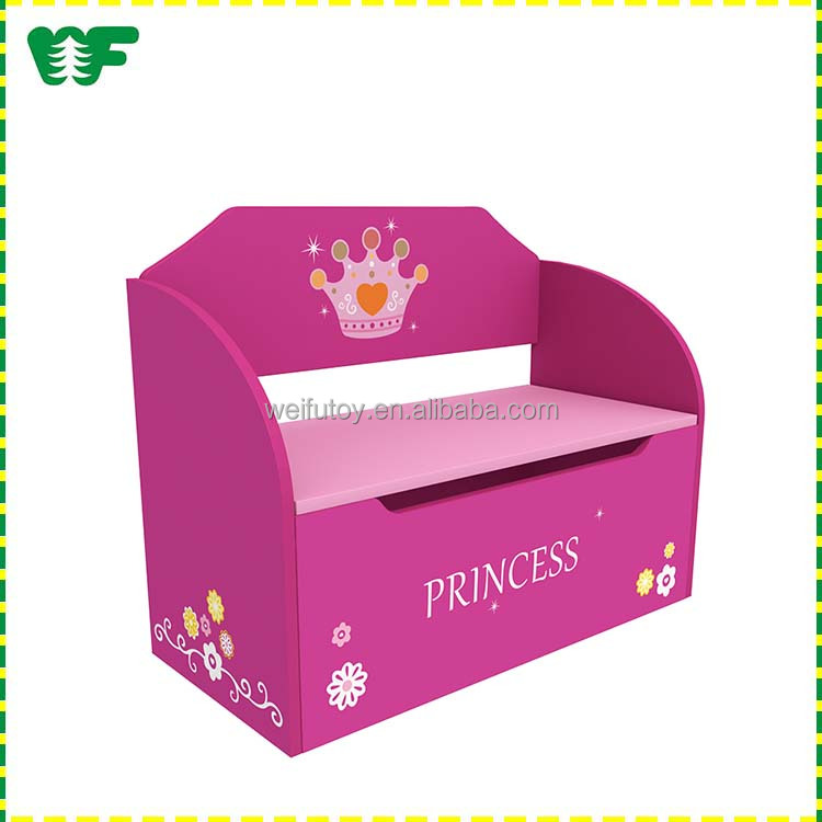 Multifunction eco-friendly children furniture toy box