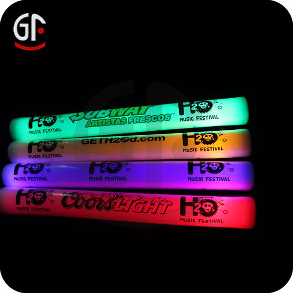 Flashing Led Cotton Candy Stick Glowing In The Dark For Party And Concert