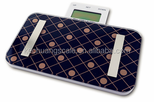 Nostalgia Envelope Mini Human Scale Electronic Body Fat Scale Digital with Touch Button ABS Platform