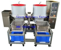 Jewelry grinding machinery with sieve