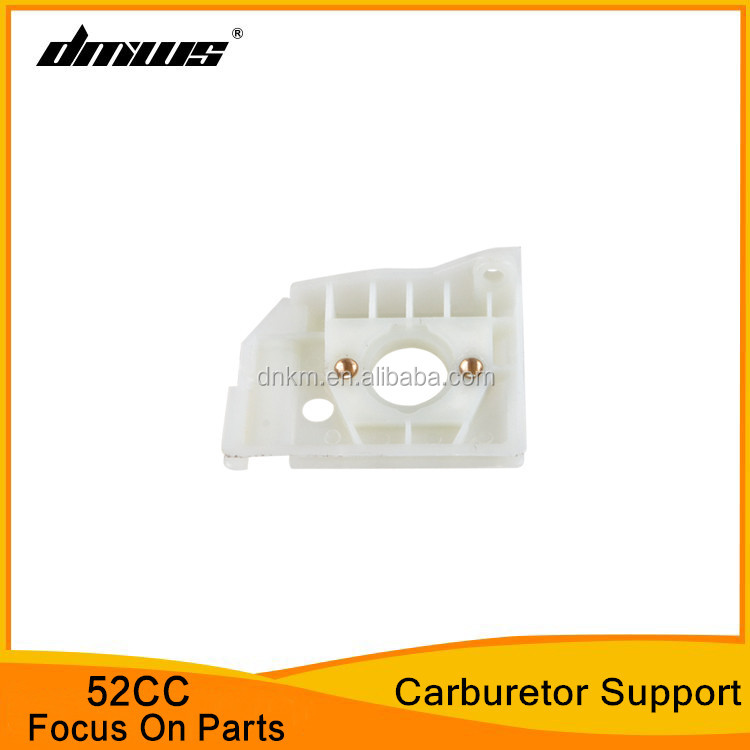 Gasoline 5200 Chainsaw 52CC Spare Parts Carburetor Support