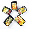 New Certified BPA-Free Reusable bento lunch box food container with Lids
