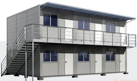 SGS Certification Prefabricated Modular House Container for construction worker