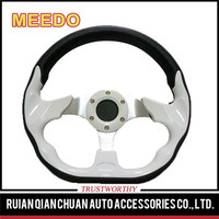 atuo parts13inch flat aluminum alloyracing car auto steering wheel