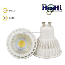Manufacturer Supply led indoor light,5w ,COB chip,dimmable led spot light 85-265v