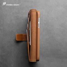 factory vendor supplier handmade for samsung galaxy s7 fashion leather phone case