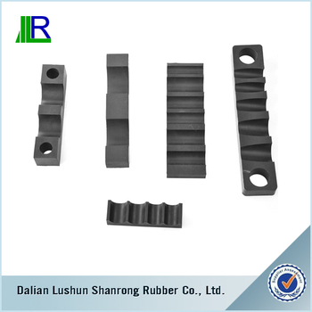 Shock absorption rubber buffer