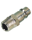 male Quick Release Euro Compressed Air Line Steel Coupler Connector Fitting