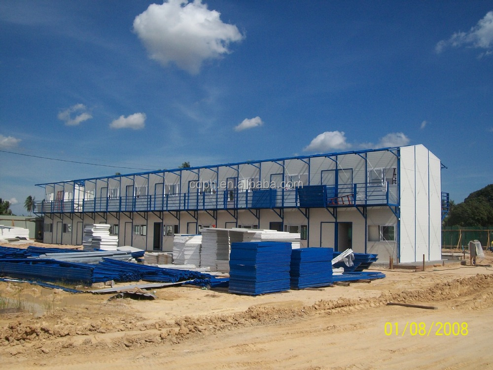quick assembly prefabricated economic houses for labour living
